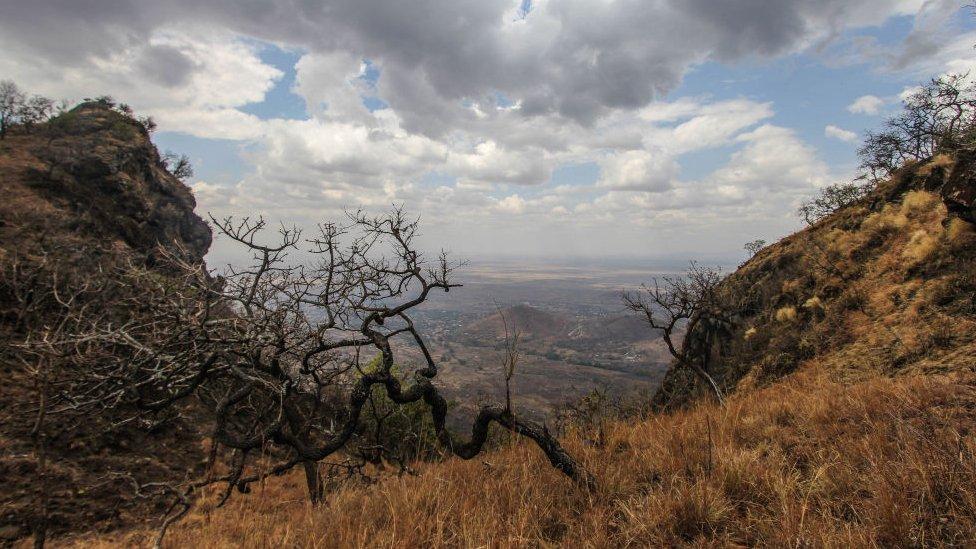 File picture of Mount Moroto in Karamoja