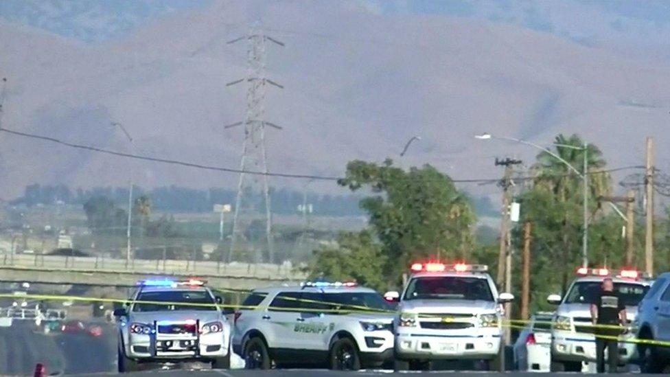 Policija u Bejkersfildu, Kalifornija.
