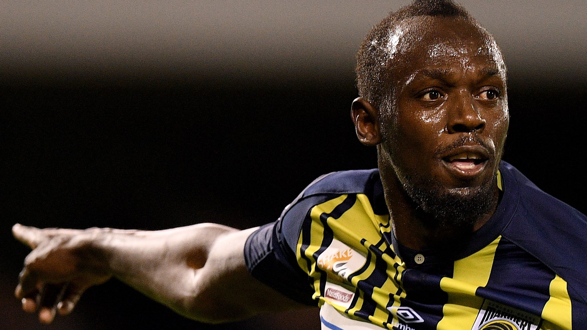 Usain Bolt questions why he is being drug tested as he is not yet a professional footballer