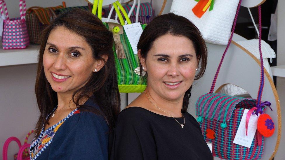 Diana Martinez-Erazo (left) and her sister Claudia