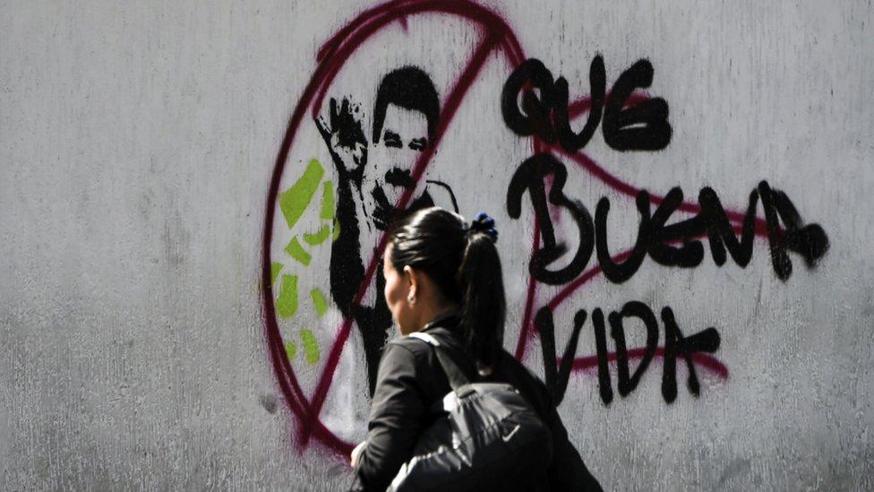 Grafiti en Caracas