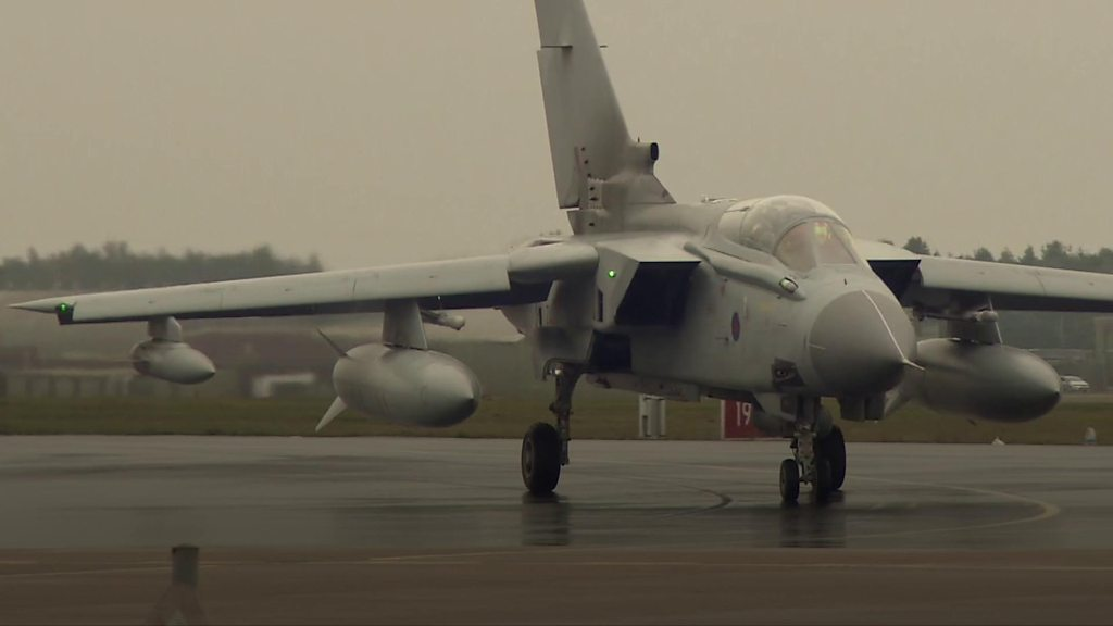 RAF Tornado jets make final return to RAF Marham