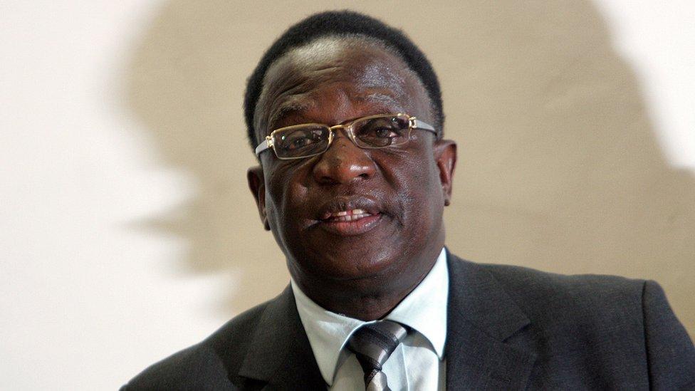 Emmerson Mnangagwa in 2008