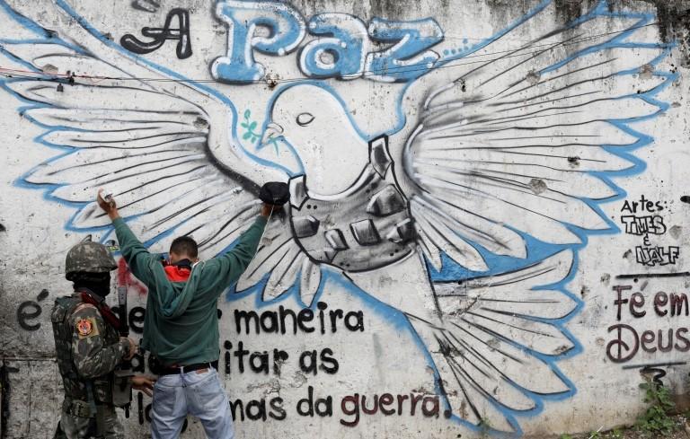 La detención de un hombre en Jacarezinho