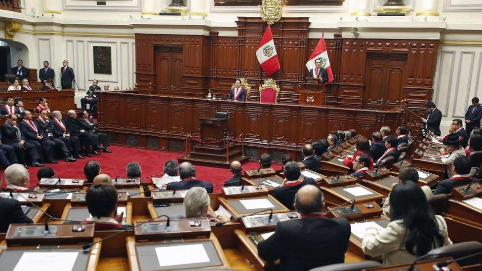 El parlamento peruano es unicameral desde 1993.