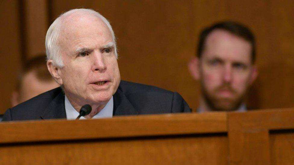السناتور الجمهوري الراحل جون ماكين