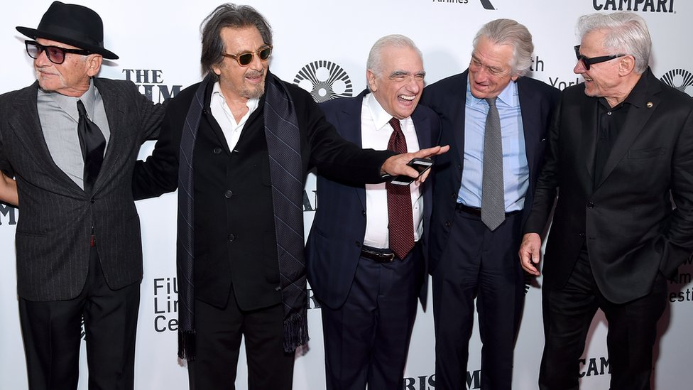 Peši, Paćino, Skorseze, De Niro i Harvi Kajtel na svetskoj premijeri Irca u Njujorku