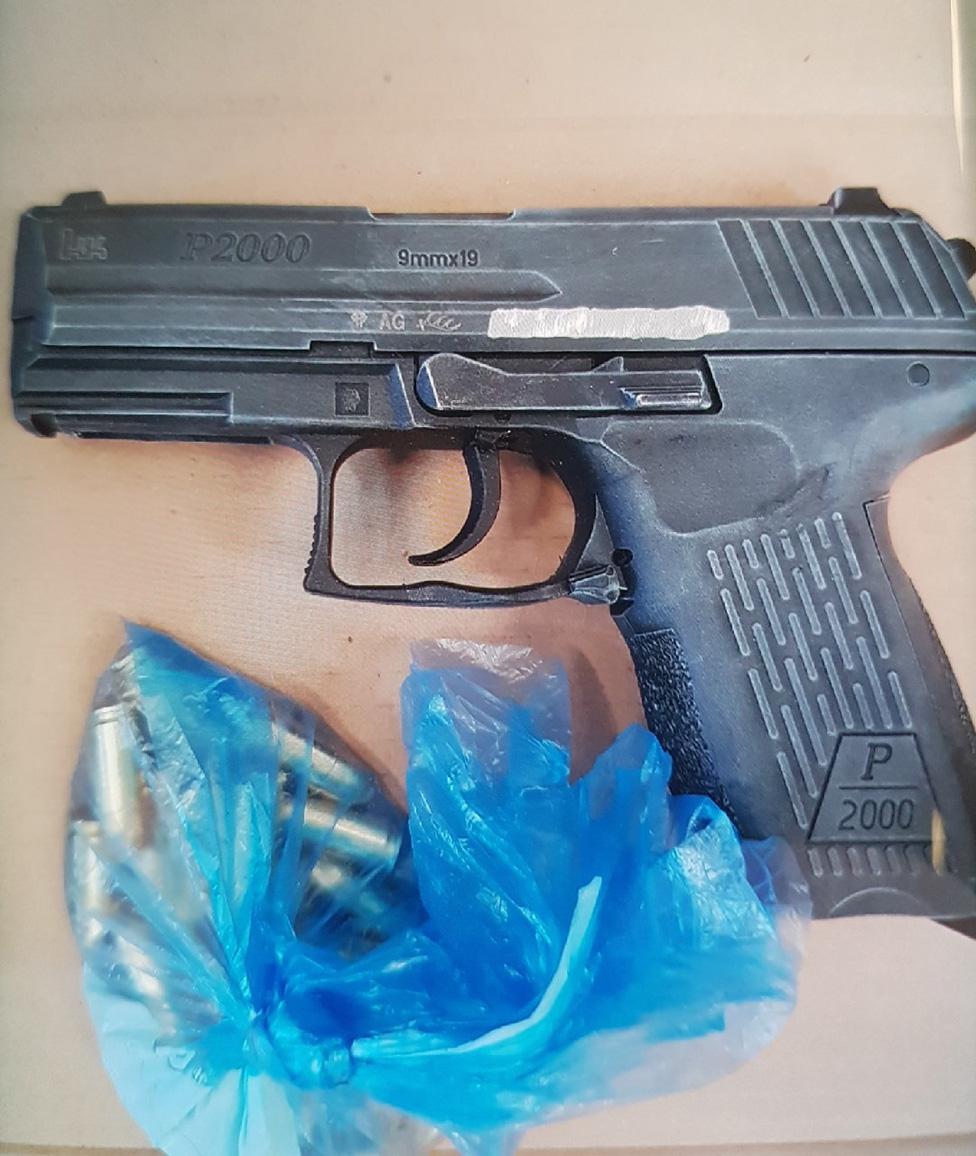 Gun and ammunition