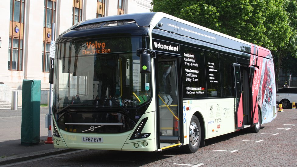 First electric bus trial for Cardiff