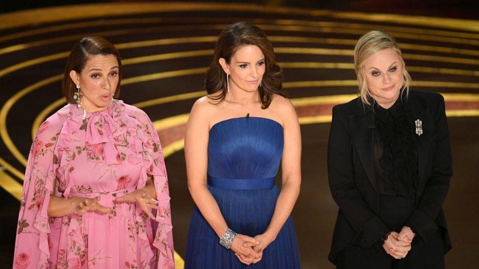 Maya Rudolph, Tina Fey and Amy Poehler