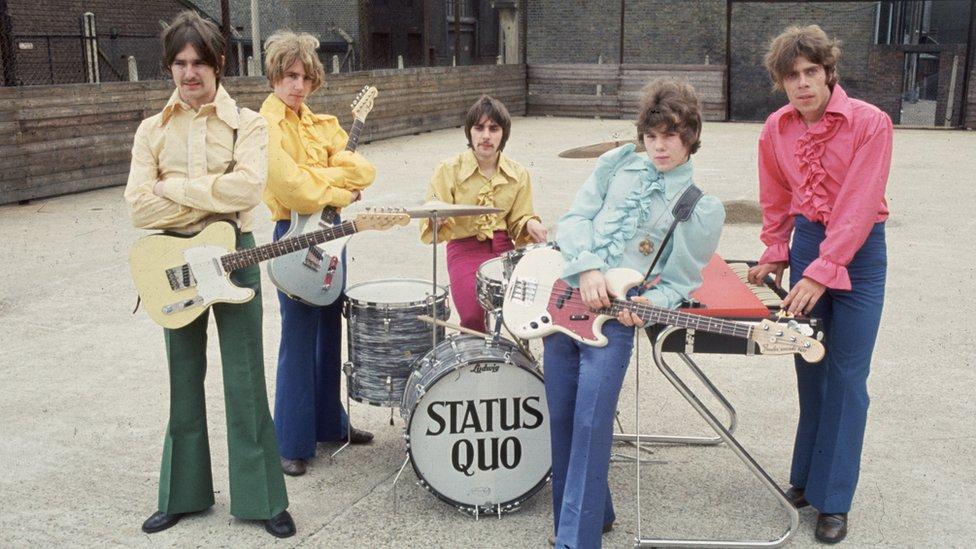 Rick Parfitt and Status Quo in 1968