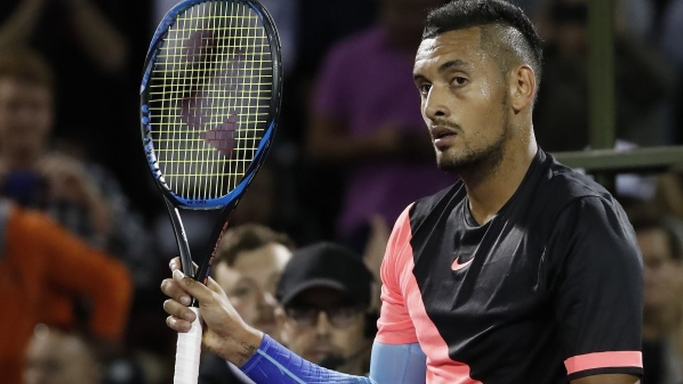 Injured Kyrgios withdraws from French Open