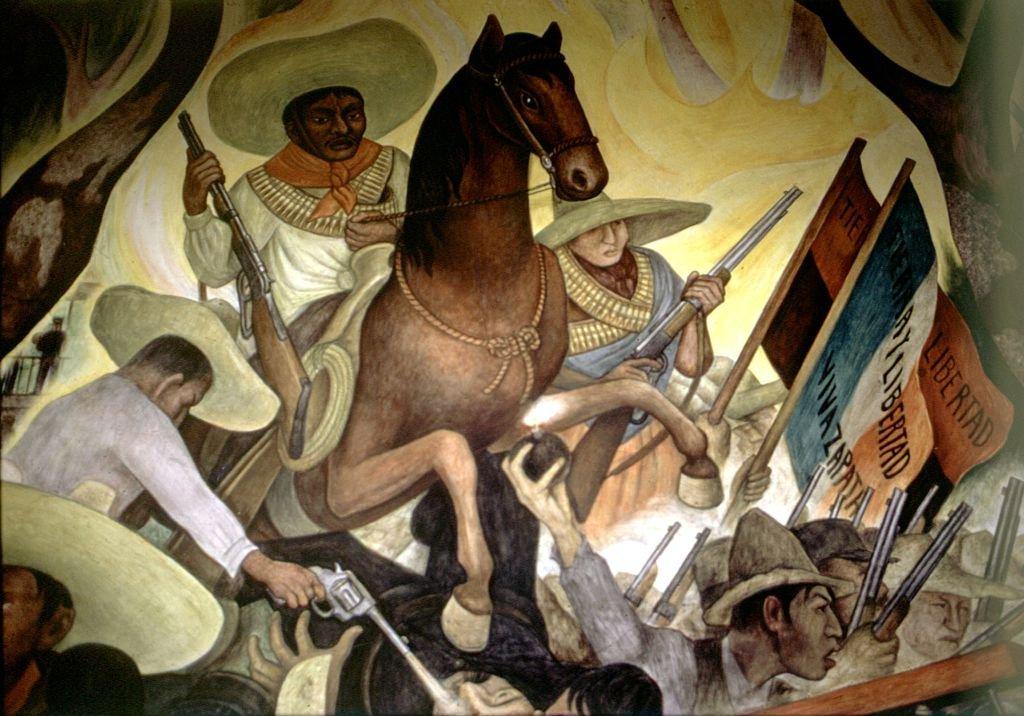 Fresco de Diego Rivera.