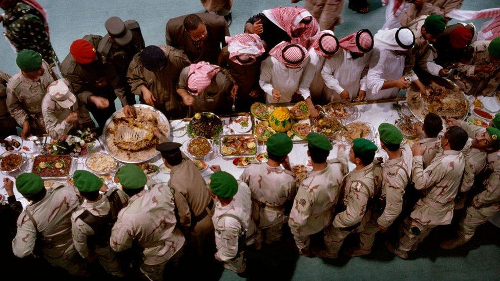 وليمة سعودية