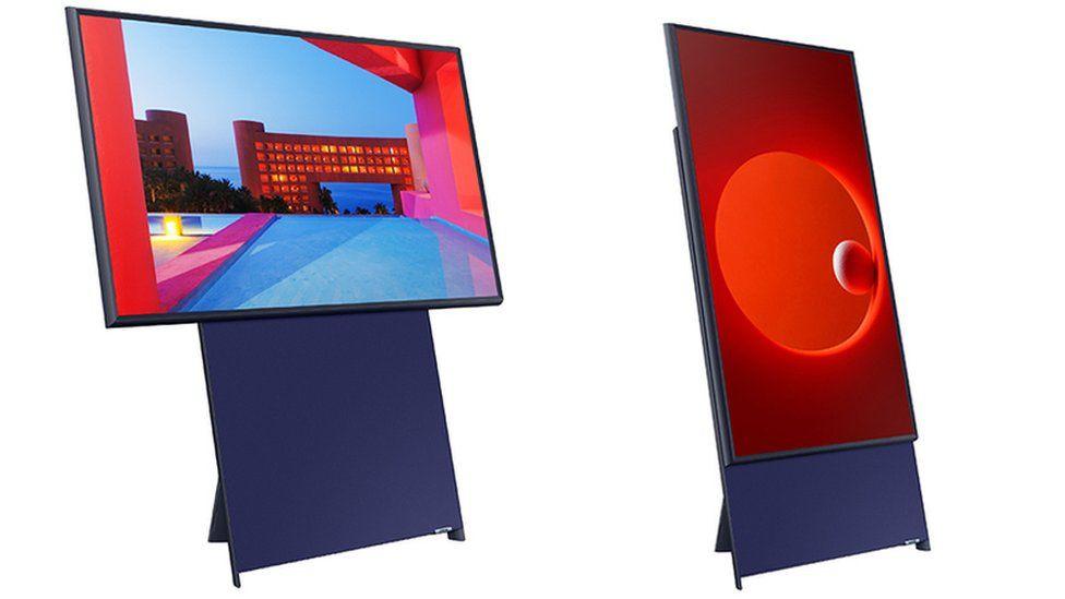 Televisor vertical de Samsung