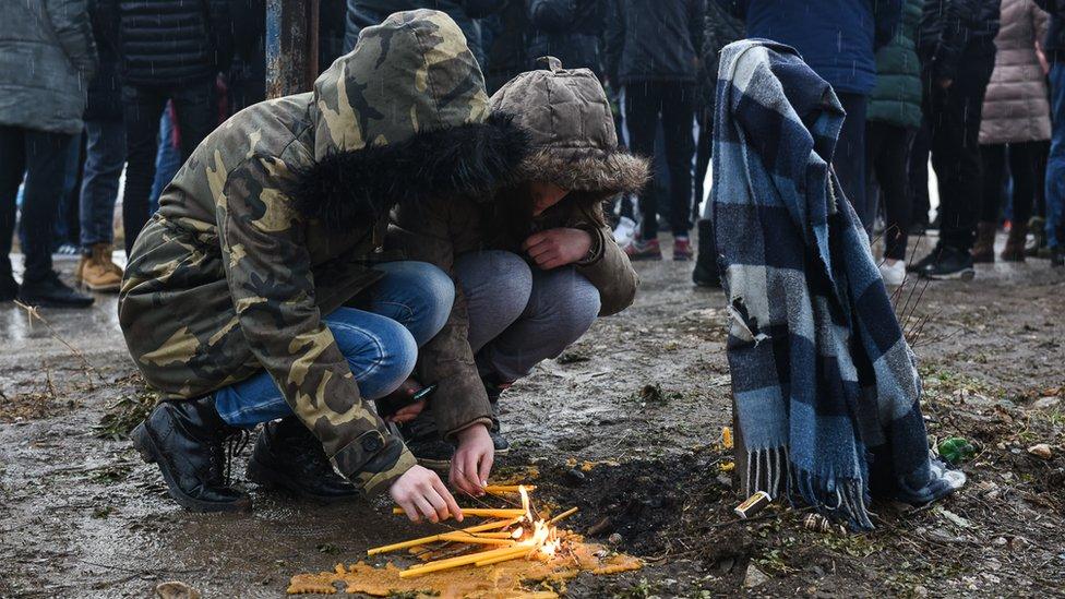 Protest na šinama