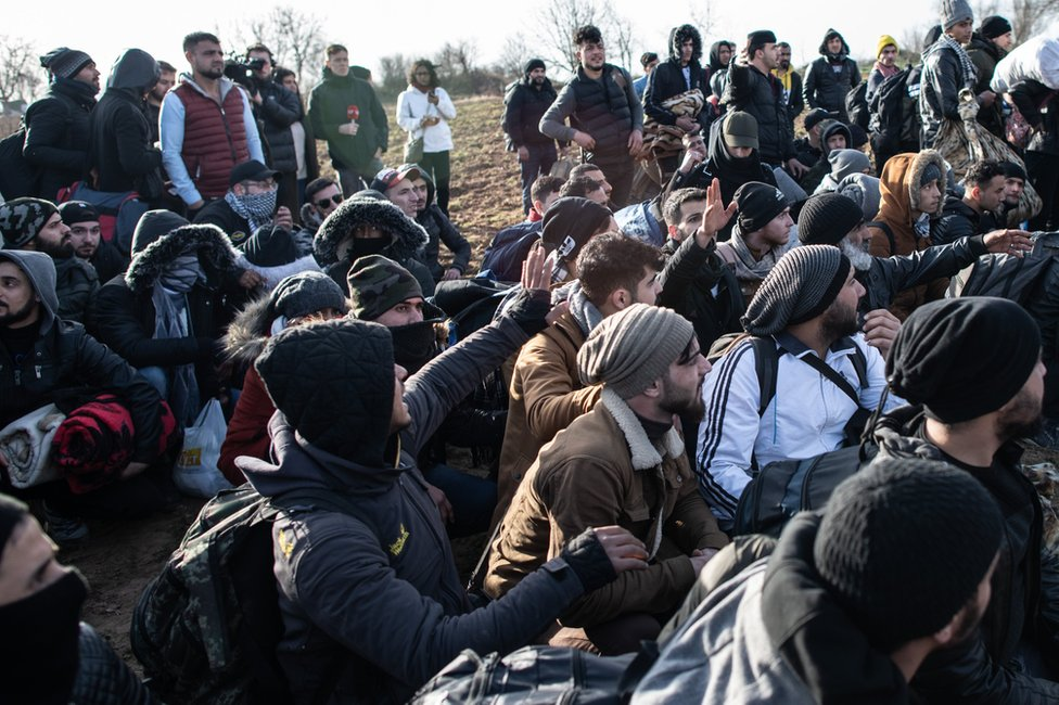 Izbeglice i migranti u utorak na graničnom prelaznu Pazarkule
