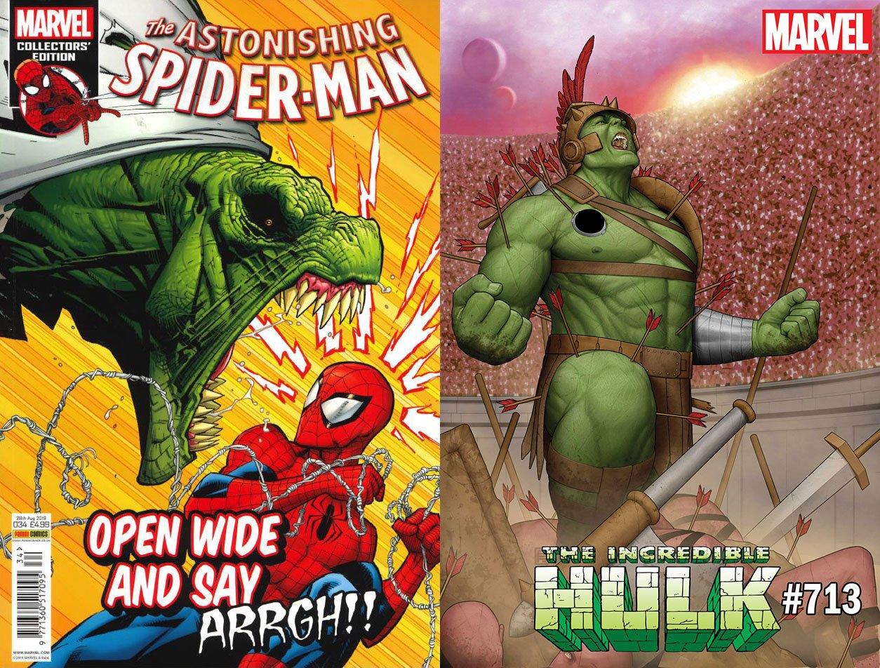 Spider-Man y Hulk