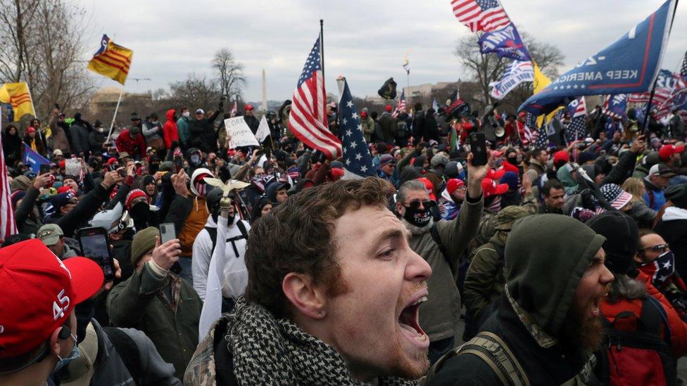 Asalto al Capitolio el 6 de enero