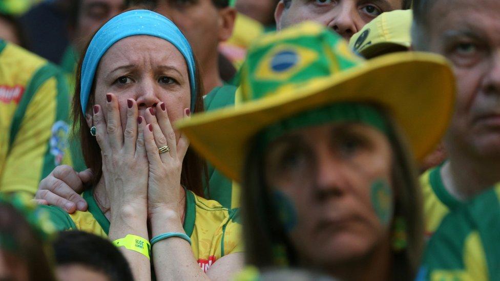 مشجعو البرازيل