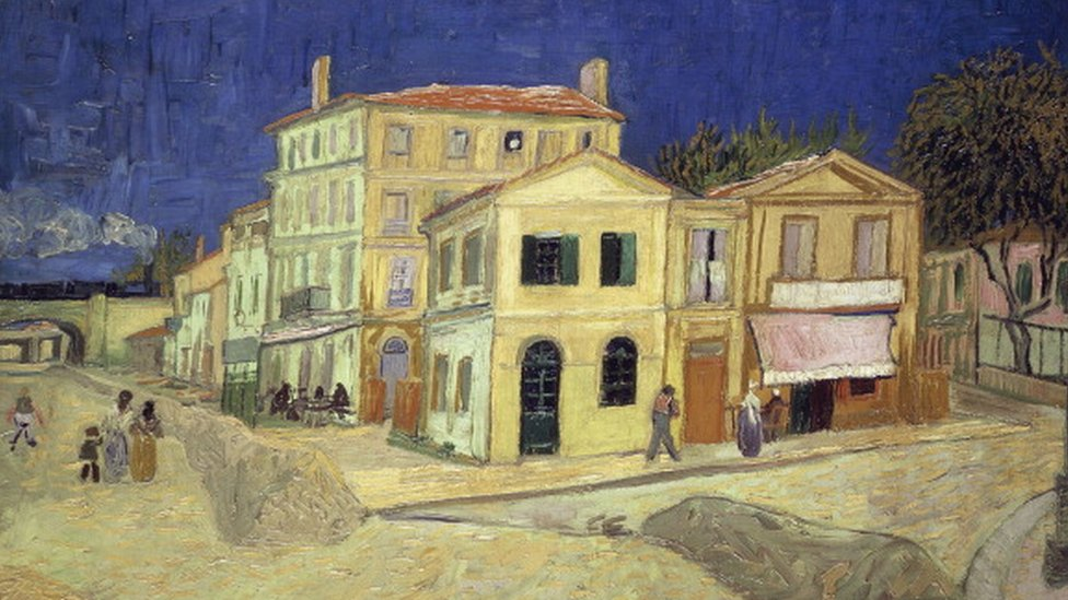Žuta kuća, Vinsent van Gog