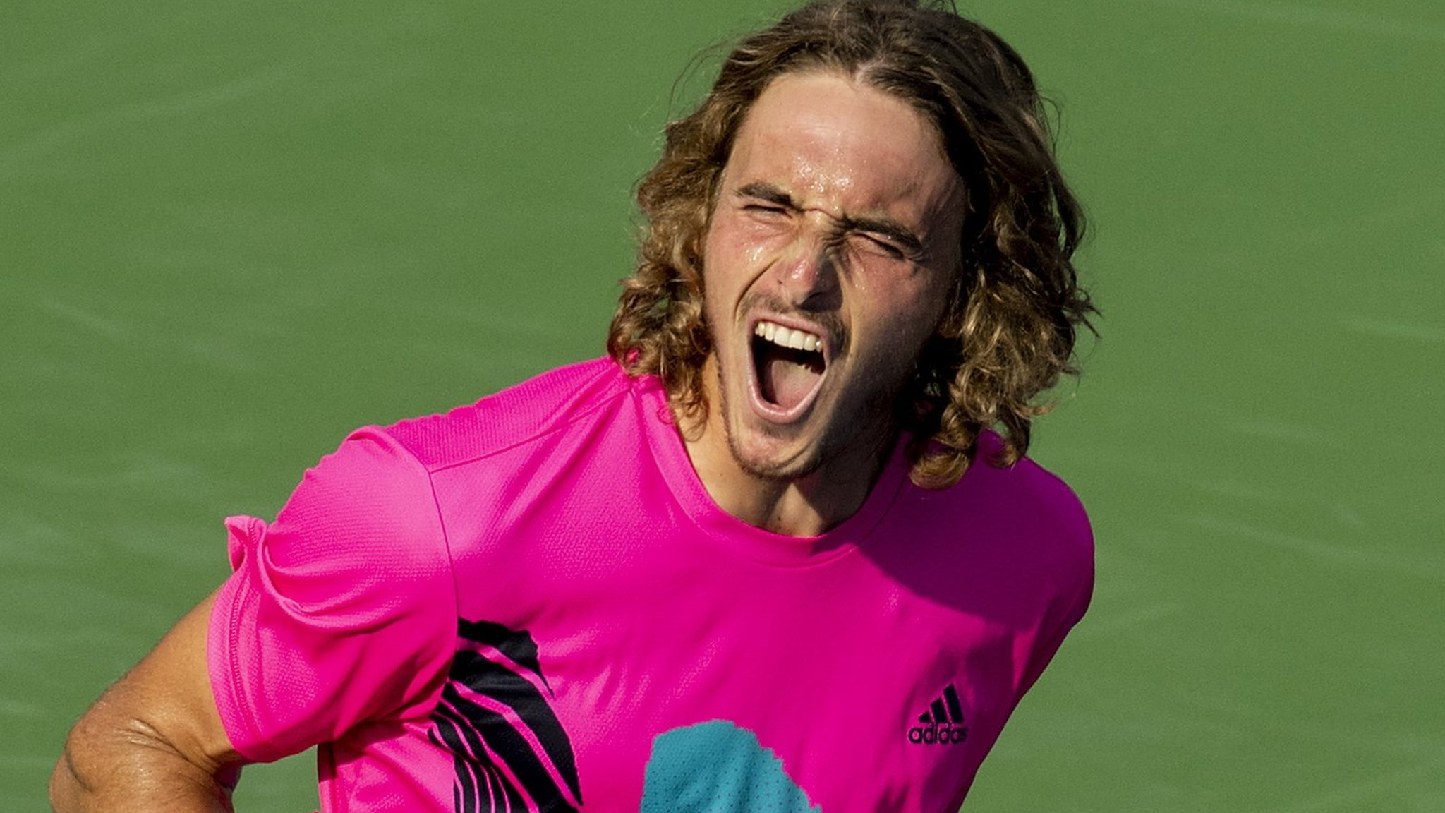 Unseeded Tsitsipas sets up Nadal final on his 20th birthday