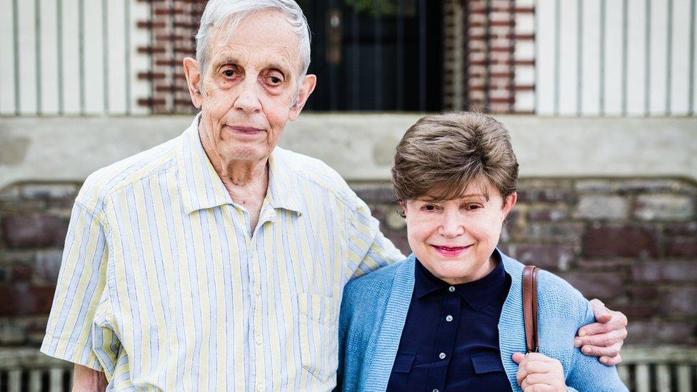 John Nash y Alicia Lardé