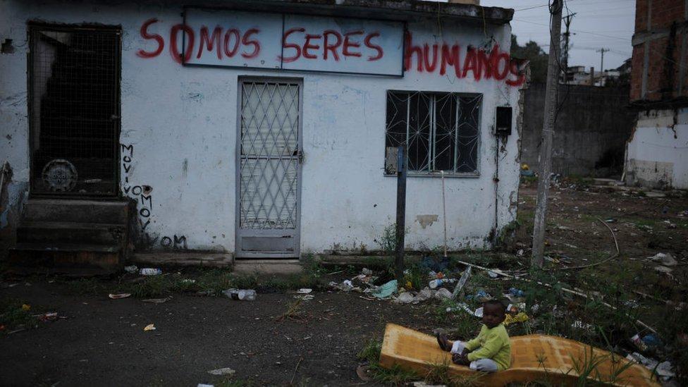 favela en Río, septiembre de 2020