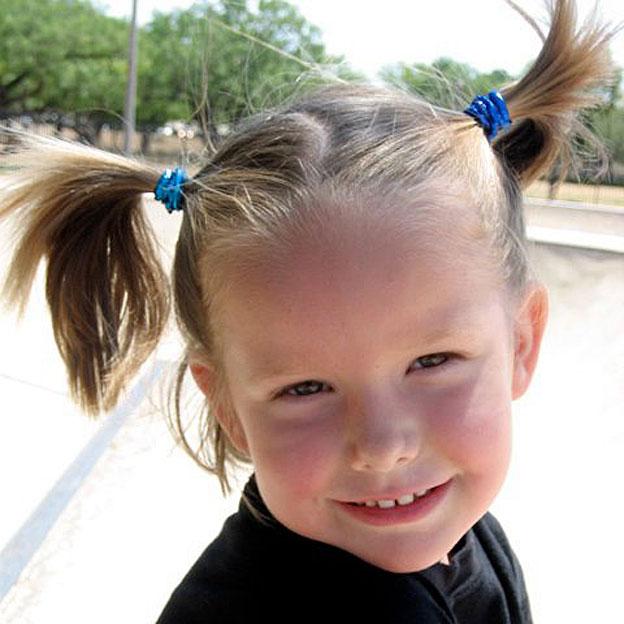 Ella saat berumur empat tahun.