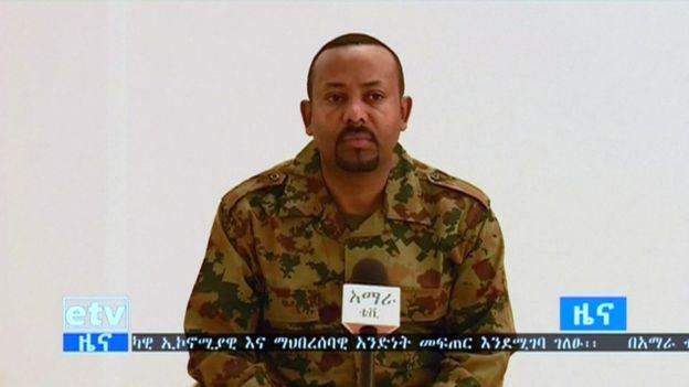 Başbakan Abiy Ahmed