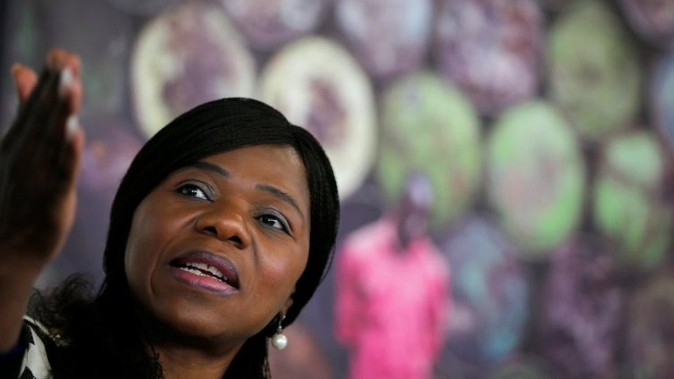 South African Public Protector Thuli Madonsela (06 October 2016)
