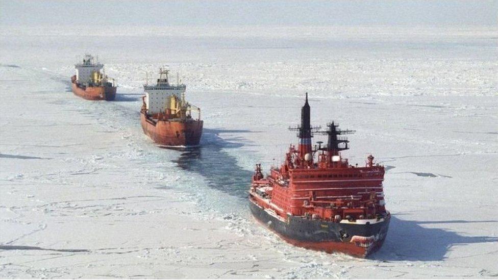 北極破冰船