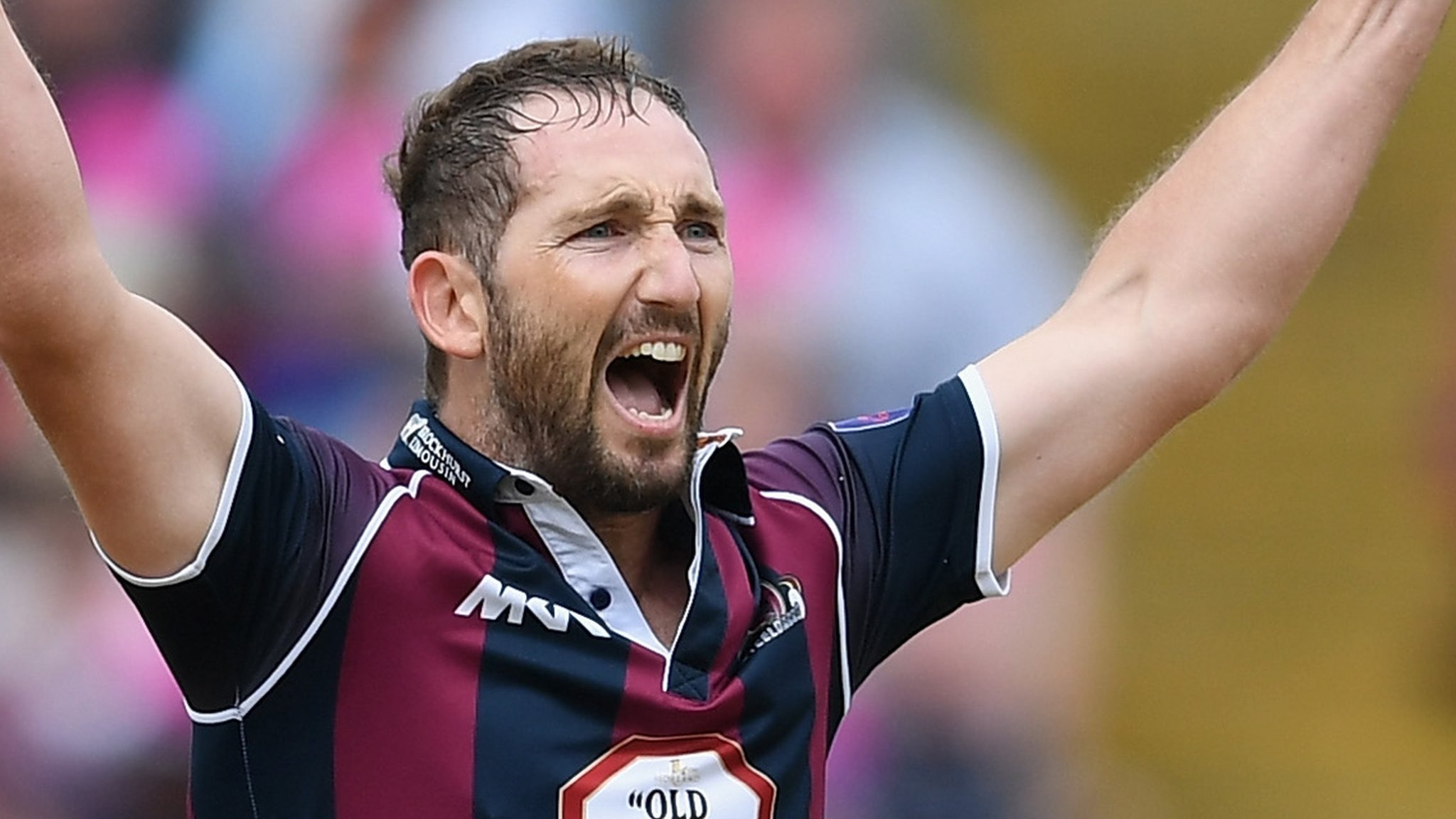 Northants' Crook to retire at season's end