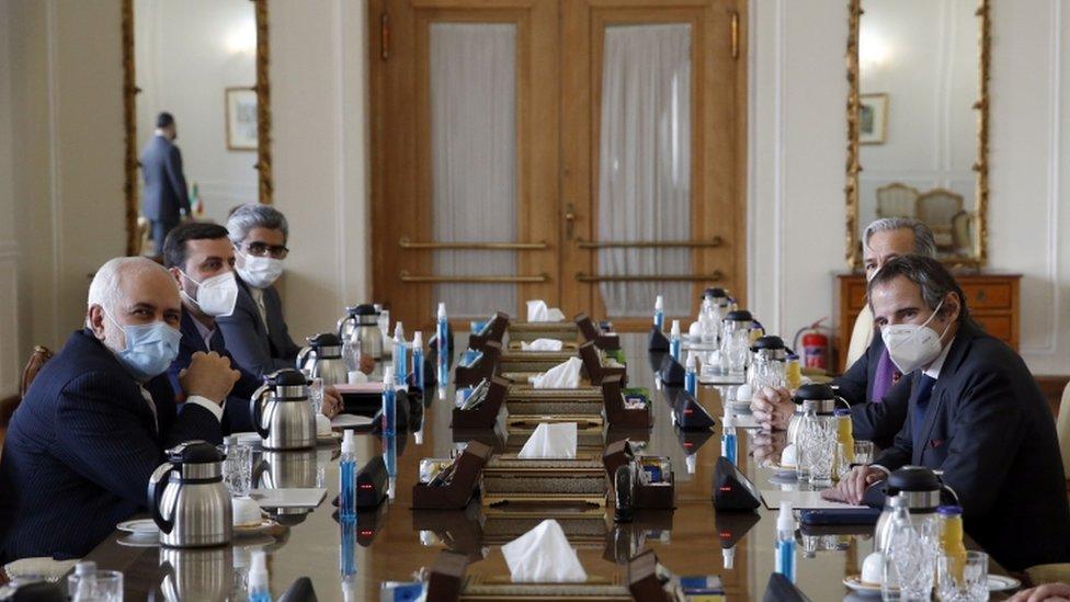 مدير الوكالة الدولية للطاقة الذرية في إيران