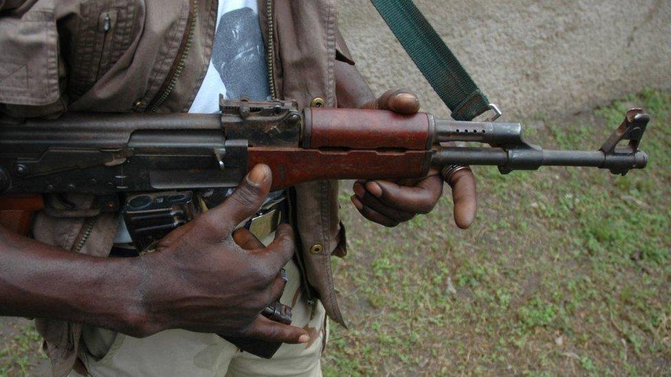 مسلح من نيجيريا
