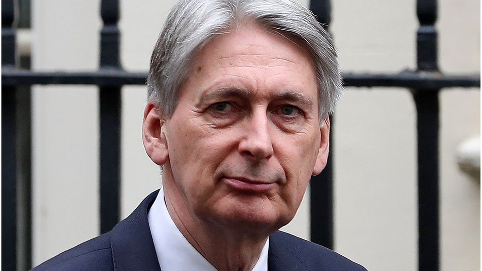 Chancellor Philip Hammond's visit to China not going ahead