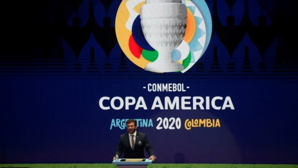 Presidente de Conmebol, Alejandro Domínguez