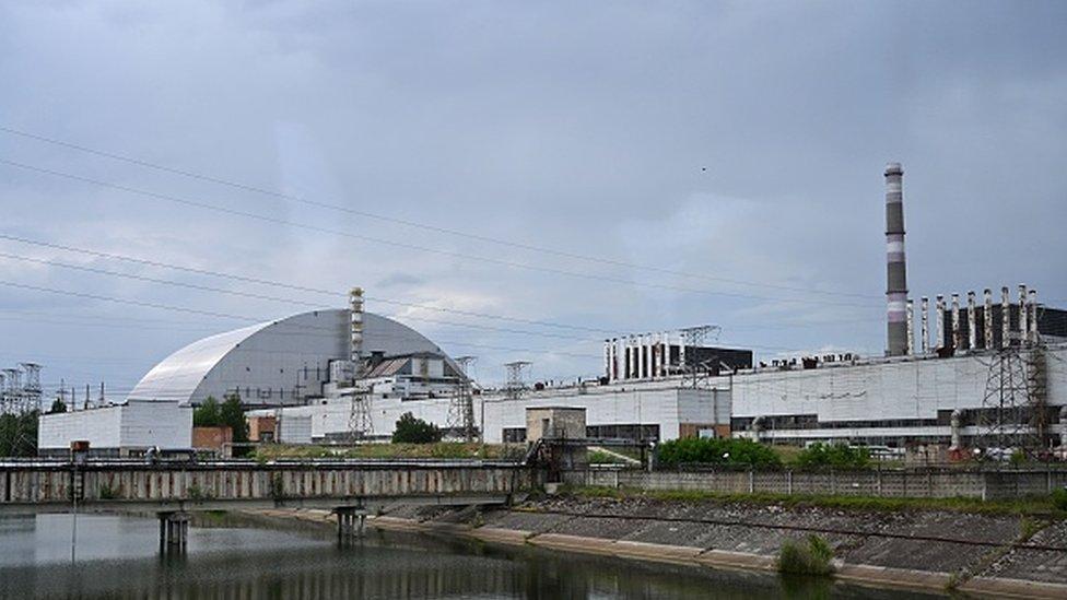 Çernobil Nükleer Santrali