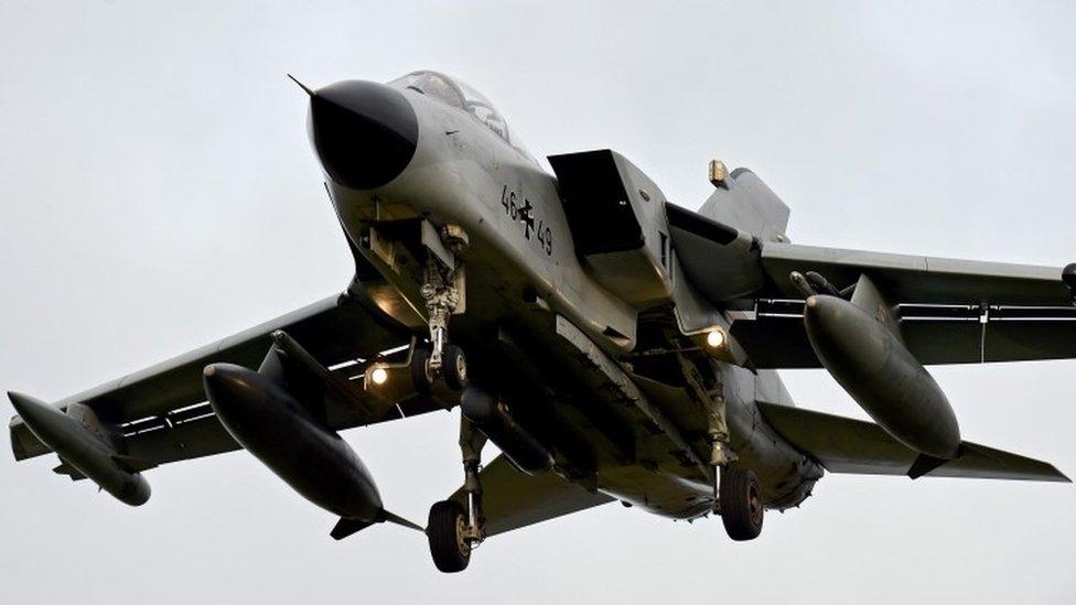 German Tornado plane