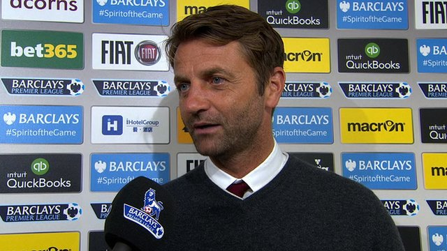 Tim Sherwood was disappointed that his side weren't awarded a second penalty