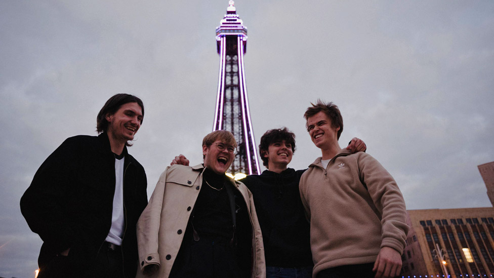 The Lathums in Blackpool