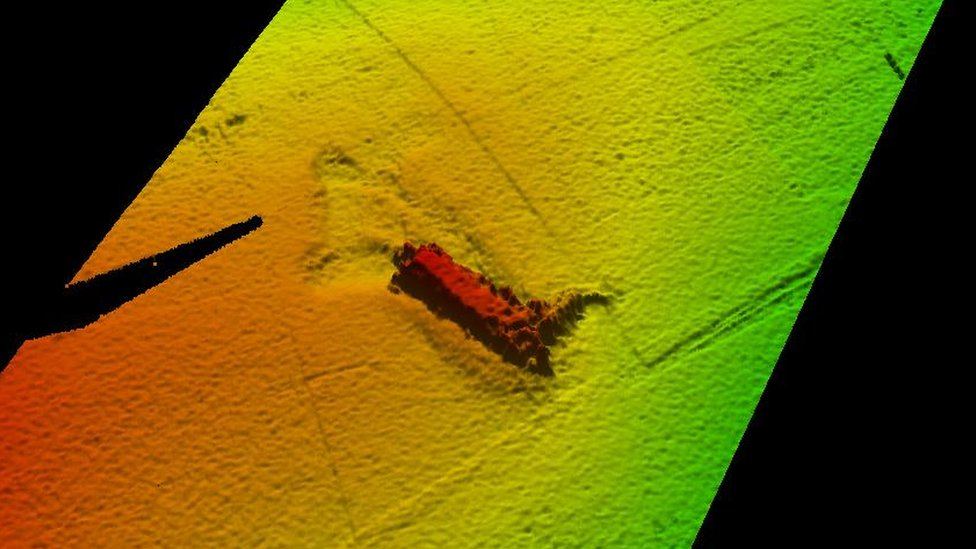 Kongsberg Maritime's image of the lost Nessie model