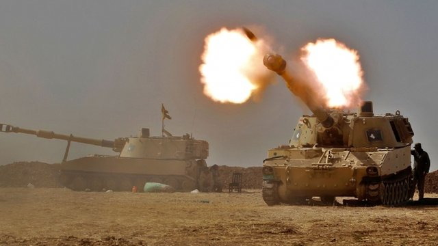 Iraqi forces on Wednesday