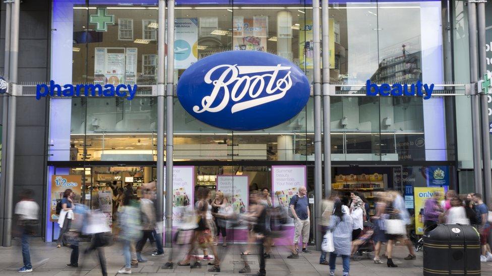 Boots pharmacy