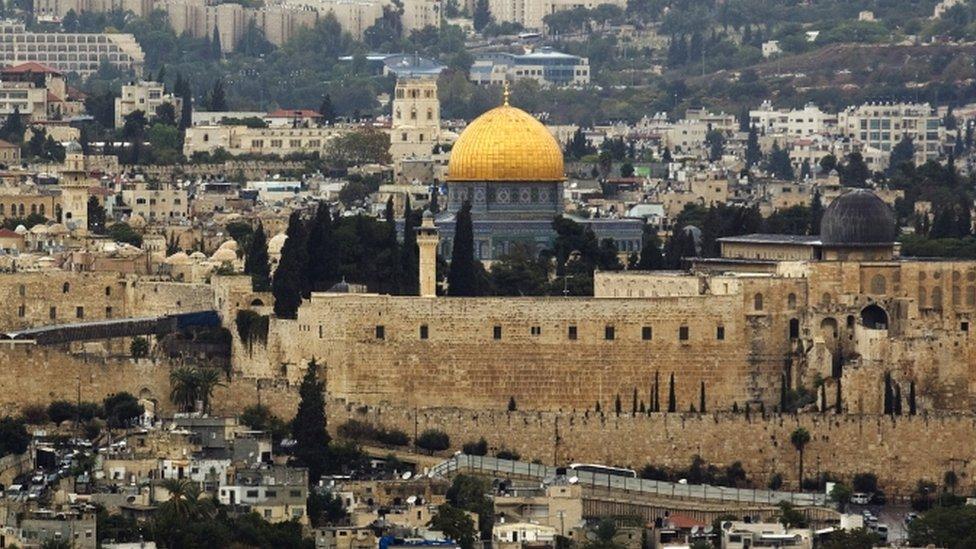 General view of Jerusalem