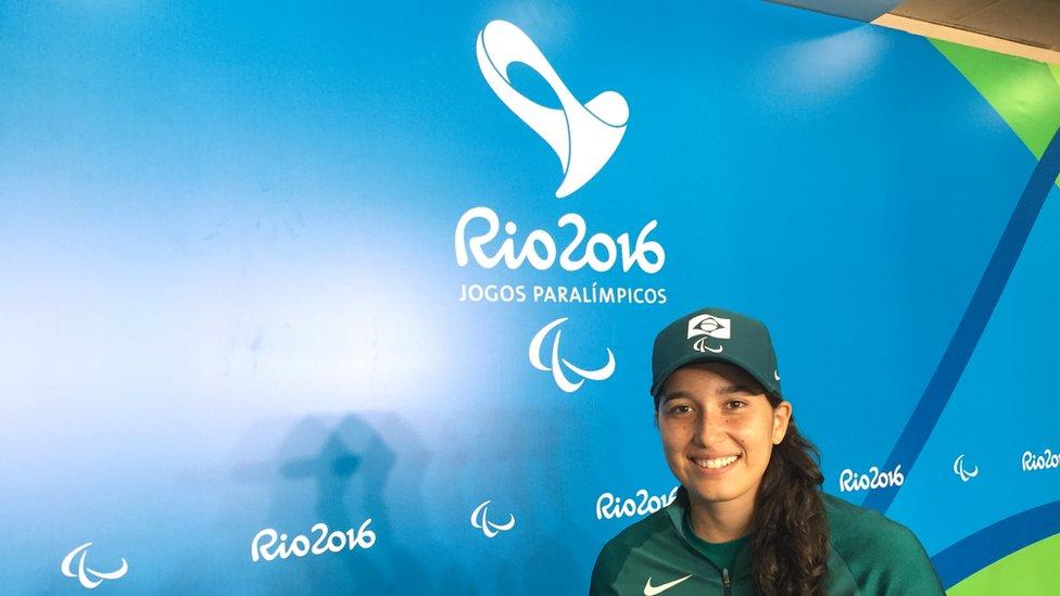 Tenista Natália Mayara
