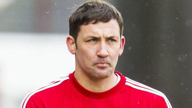 Hamilton Academical player-manager Martin Canning