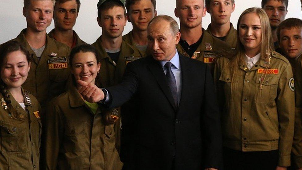 Vladimir Putin u Belgorodu