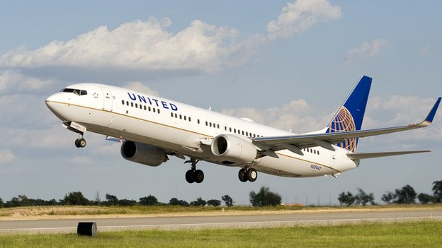 United Airlines Belfast To New York Service Restored Bbc News