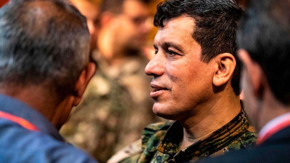 Suriye Demokratik Güçleri (SDG) Genel Komutanı Mazlum Kobani